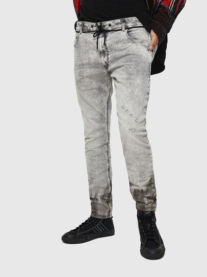 Diesel - Krooley JoggJeans 0091H, Hellgrau - Jeans - Image 1