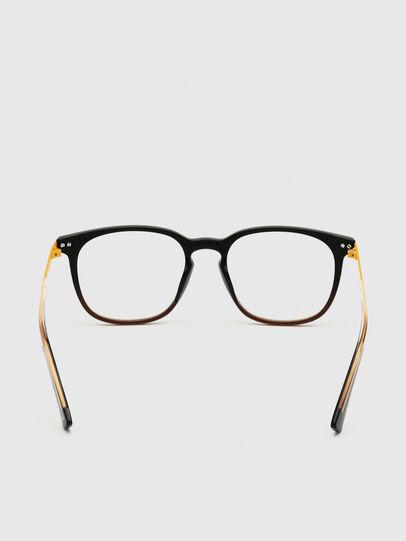 Diesel - DL5349, Schwarz/Gelb - Korrekturbrille - Image 4