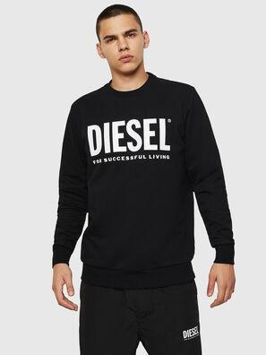 S-GIR-DIVISION-LOGO, Schwarz - Sweatshirts