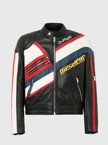 Motocross-Jacke aus Leder