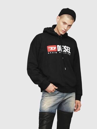 Diesel - S-DIVISION, Schwarz - Sweatshirts - Image 1