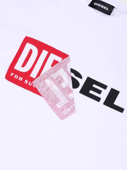 Diesel - TDIEGO, Weiß/Rot - T-Shirts und Tops - Image 3