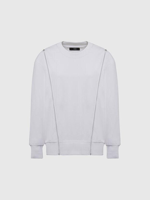 F-GEORGIA, Weiß - Sweatshirts