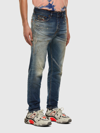 Diesel - D-Vider 009FR, Mittelblau - Jeans - Image 6