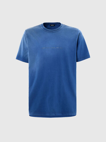 T-Shirt in ausgebleichter Optik