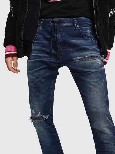 Diesel - Krooley JoggJeans 069JE, Dunkelblau - Jeans - Image 4