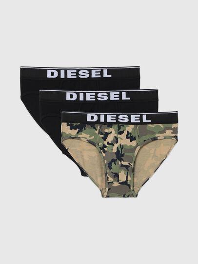 Diesel - UMBR-ANDRETHREEPACK, Grau/Schwarz - Slips - Image 1