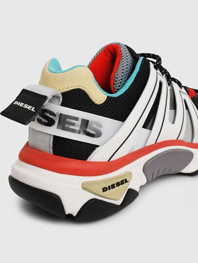 Diesel - S-KIPPER LOW TREK, Weiß/Schwarz - Sneakers - Image 7