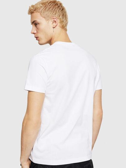 Diesel - T-DIEGO-DIV, Weiß - T-Shirts - Image 3