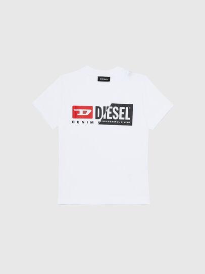 Diesel - TDIEGOCUTYB-R, Weiß - T-Shirts und Tops - Image 1
