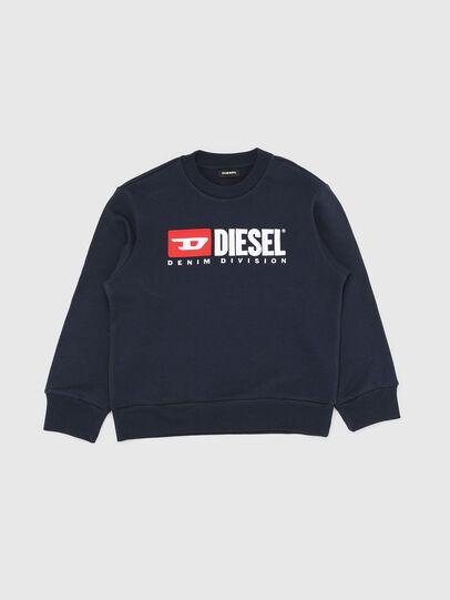 Diesel - SCREWDIVISION OVER, Marineblau - Sweatshirts - Image 1