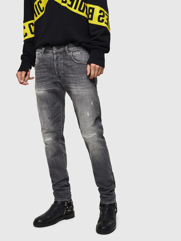 D-Bazer 0890F, Hellgrau - Jeans