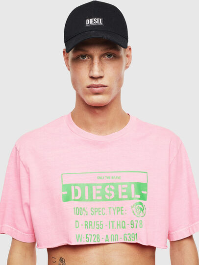 Diesel - T-CROPPY, Rosa - T-Shirts - Image 1