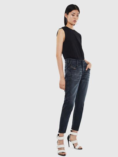 Diesel - FAYZA JoggJeans® 069MD, Dunkelblau - Jeans - Image 6