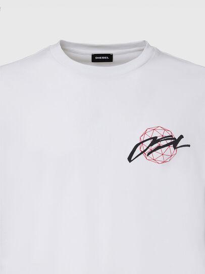 Diesel - T-JUST-LS-X92, Weiß - T-Shirts - Image 3