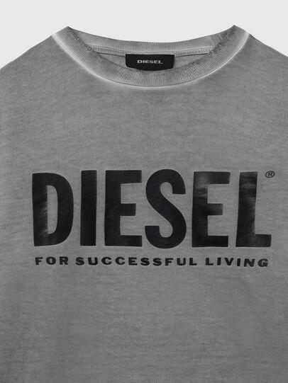 Diesel - S-GIR-DIVISION-LOGO, Dunkelgrau - Sweatshirts - Image 3