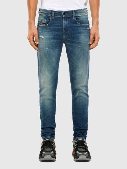 Diesel - D-Strukt 009IT, Mittelblau - Jeans - Image 1