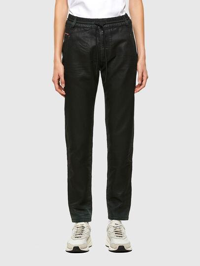 Diesel - KRAILEY JoggJeans® 069QP, Schwarz/Grün - Jeans - Image 1