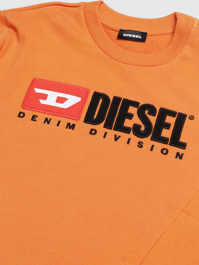Diesel - SCREWDIVISION OVER, Orange - Sweatshirts - Image 3