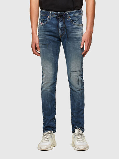 Diesel - Thommer JoggJeans® 069SZ, Dunkelblau - Jeans - Image 1