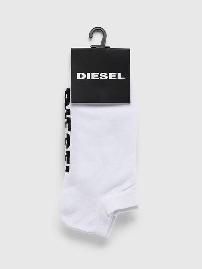 Diesel - SKM-GOST, Weiß - Kurze Socken - Image 2