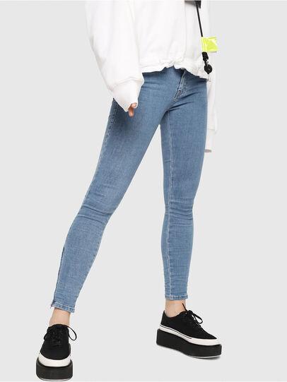 Diesel - Slandy Zip 069FN,  - Jeans - Image 1