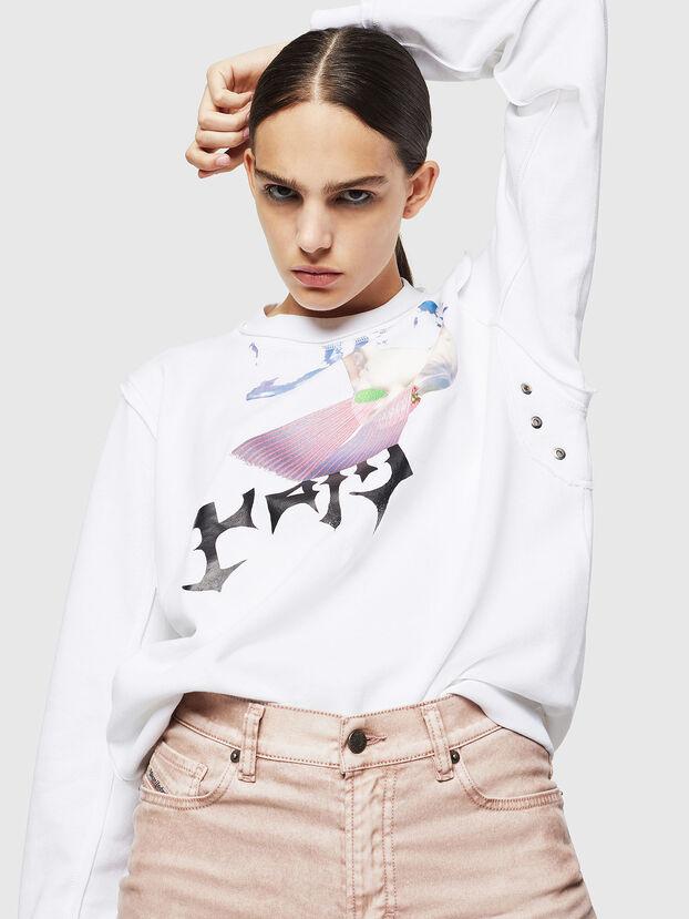 F-LYANY-G, Weiß - Sweatshirts