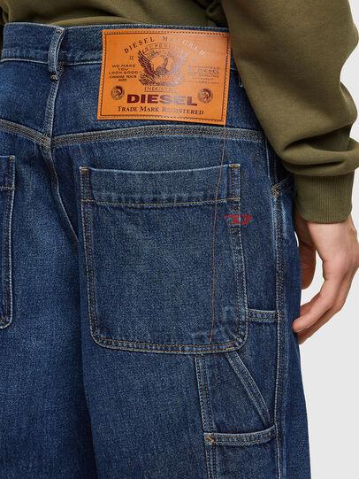 Diesel - D-Franky 009NE, Dunkelblau - Jeans - Image 4
