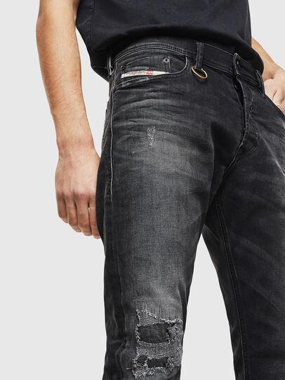 Diesel - Tepphar 069DW, Schwarz/Dunkelgrau - Jeans - Image 3