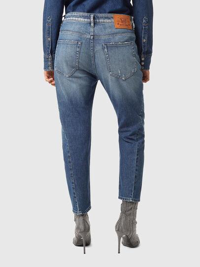 Diesel - Fayza 09A54, Mittelblau - Jeans - Image 2