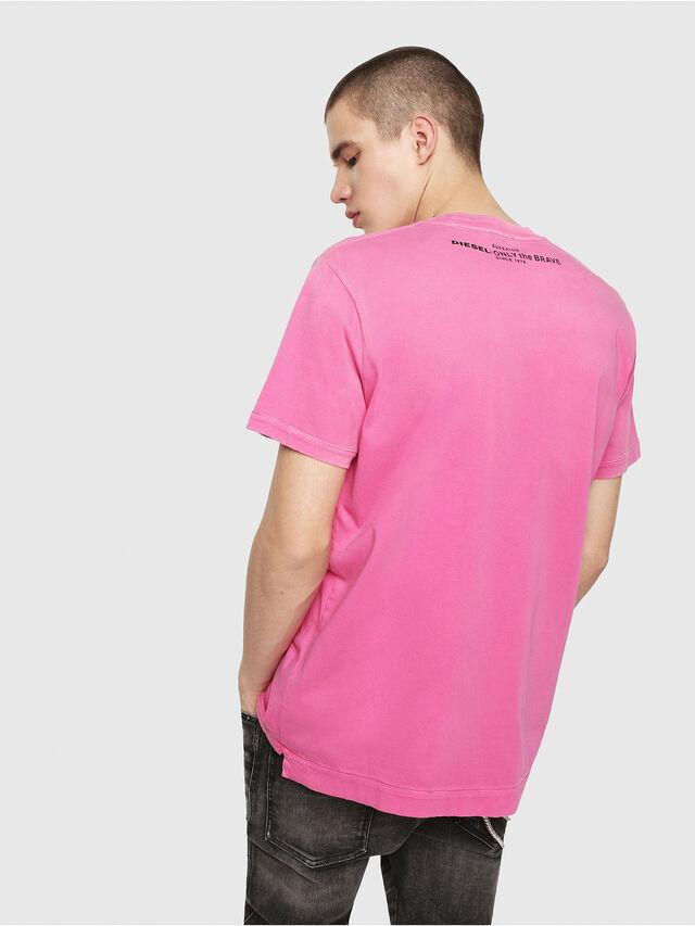 Diesel - T-SHIN, Fuchsie - T-Shirts - Image 2