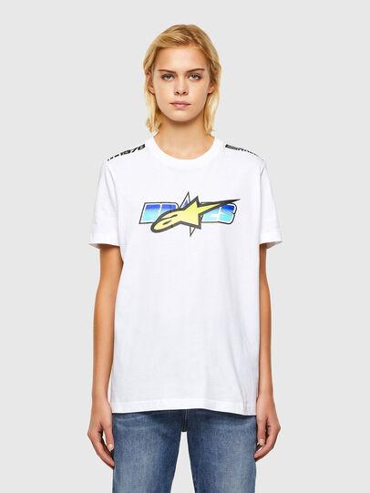 Diesel - ASTARS-T-DIEGOS-B-FL, Weiß - T-Shirts - Image 1
