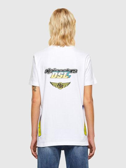 Diesel - ASTARS-T-DIEGOS-B-FL, Weiß - T-Shirts - Image 2