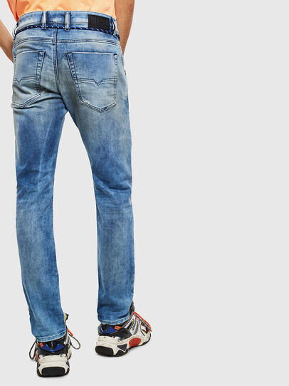 Diesel - Krooley JoggJeans 0099Q, Mittelblau - Jeans - Image 2
