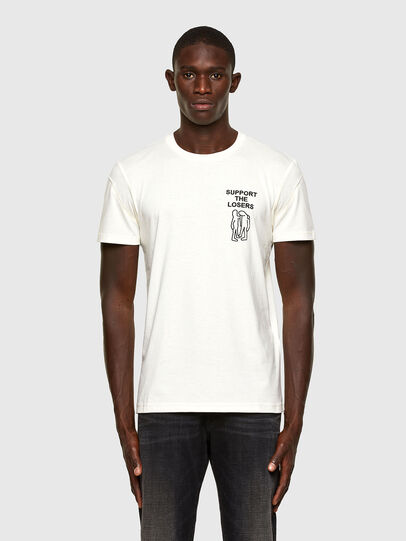 Diesel - T-DORYMO-A1, Weiß - T-Shirts - Image 1