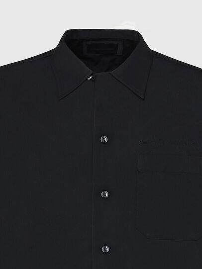 Diesel - S-MOOL-A, Schwarz - Hemden - Image 3
