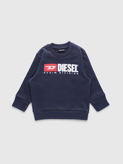 Diesel - SCREWDIVISIONB-R, Dunkelblau - Sweatshirts - Image 1