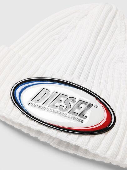 Diesel - K-DENNY, Weiß - Mützen - Image 3