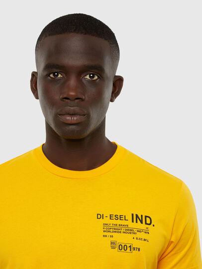 Diesel - T-DIEGOS-N21, Gelb - T-Shirts - Image 3