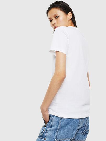 Diesel - T-SILY-S2, Weiß - T-Shirts - Image 2