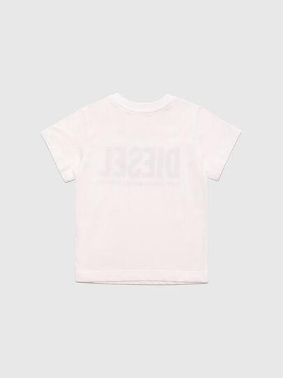 Diesel - TJUSTLOGOB, Weiß - T-Shirts und Tops - Image 2