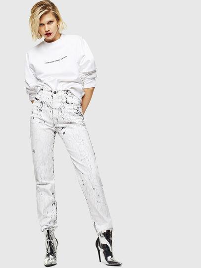 Diesel - F-ANG-COPY, Weiß - Sweatshirts - Image 5