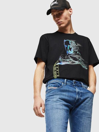 Diesel - Thommer 0097X, Mittelblau - Jeans - Image 3
