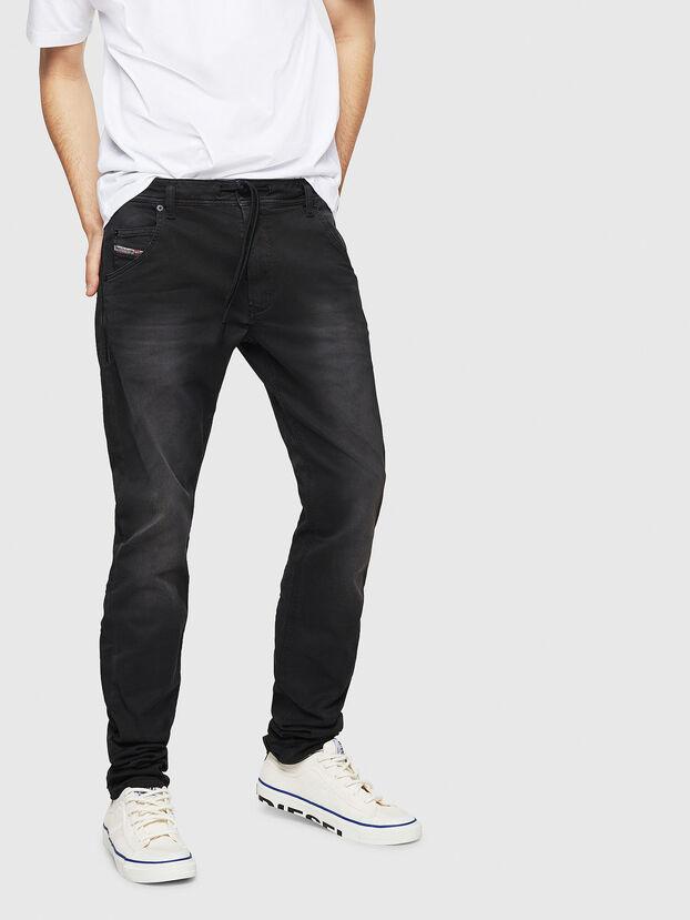 Krooley Long JoggJeans 0670M, Schwarz - Jeans