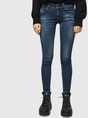 Slandy Low 069KW, Dunkelblau - Jeans