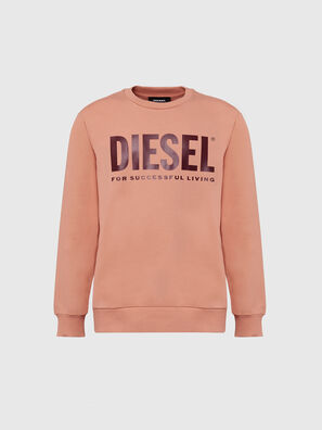 S-GIR-DIVISION-LOGO, Rosa - Sweatshirts