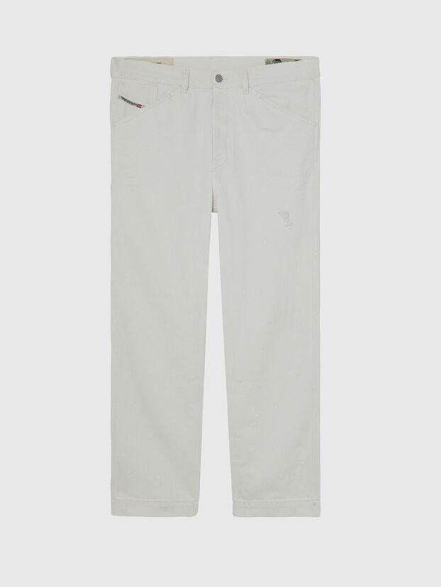D-Franky 009BZ, Weiß - Jeans