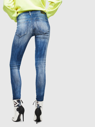 Diesel - Slandy 0095C, Mittelblau - Jeans - Image 2