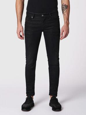Sleenker 084SB, Schwarz/Dunkelgrau - Jeans
