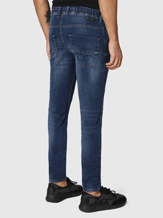 Diesel - Krooley JoggJeans 0686W, Dunkelblau - Jeans - Image 2